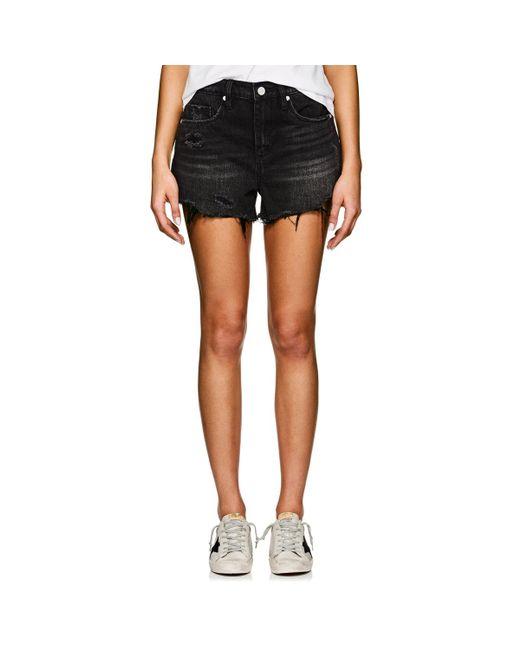 Blank NYC - Black The Barrow Denim Shorts - Lyst