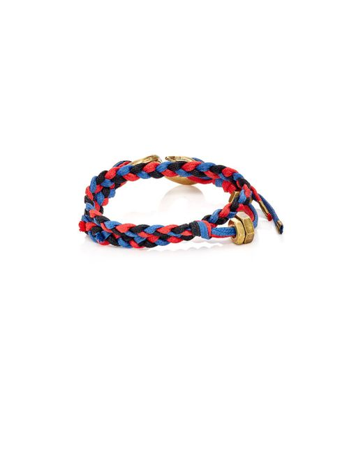 Giles & Brother | Red Braided Cord Double | Lyst