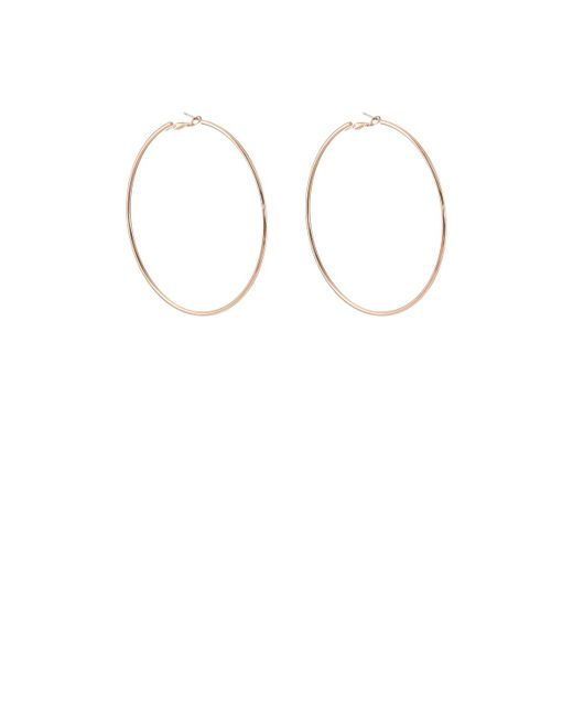 Kenneth Jay Lane | Metallic Medium Hoop Earrings | Lyst