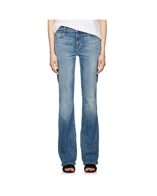 J Brand - Blue Litah High-rise Bootcut Jeans - Lyst