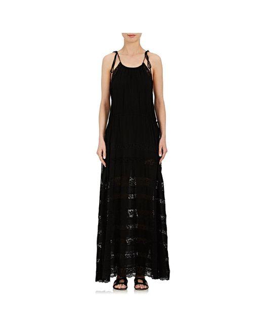 Robert Rodriguez | Black Lace Maxi Dress | Lyst