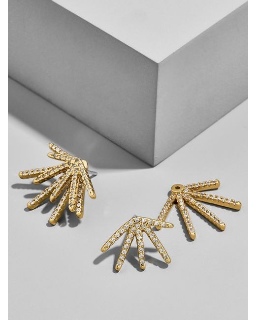 BaubleBar - Metallic Firecracker Ear Jackets - Lyst