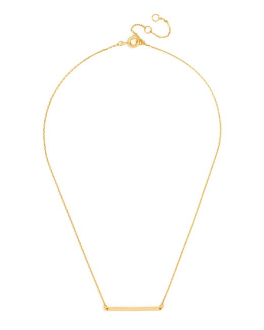 BaubleBar | Metallic Slim Bar Pendant | Lyst