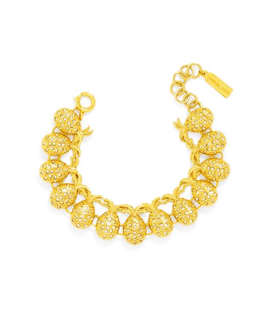 BaubleBar | Yellow Pineapple Bracelet | Lyst