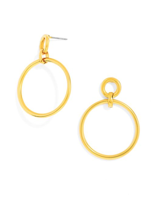 BaubleBar | Metallic Hooping Drops | Lyst