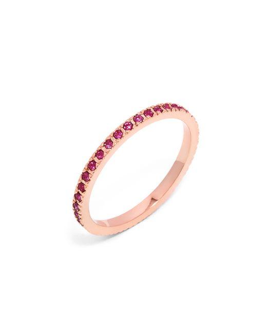 BaubleBar | Pink Pavã© Eternity Ring | Lyst