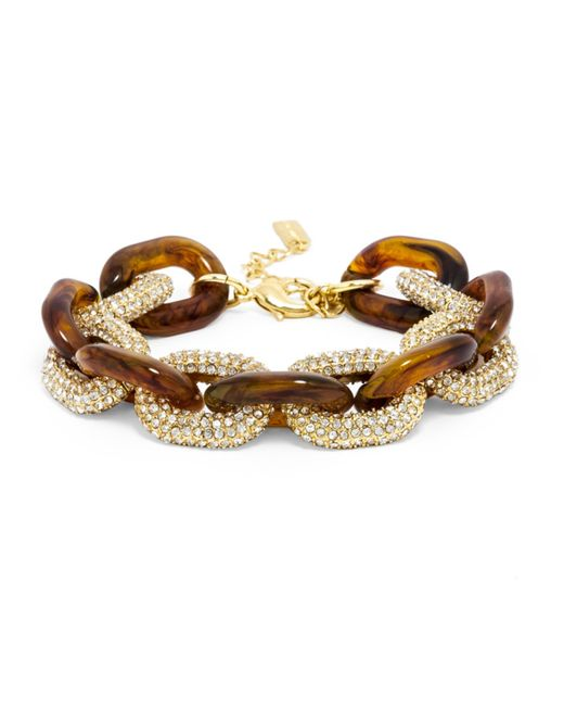 BaubleBar | Brown Pavã© Resin Links | Lyst