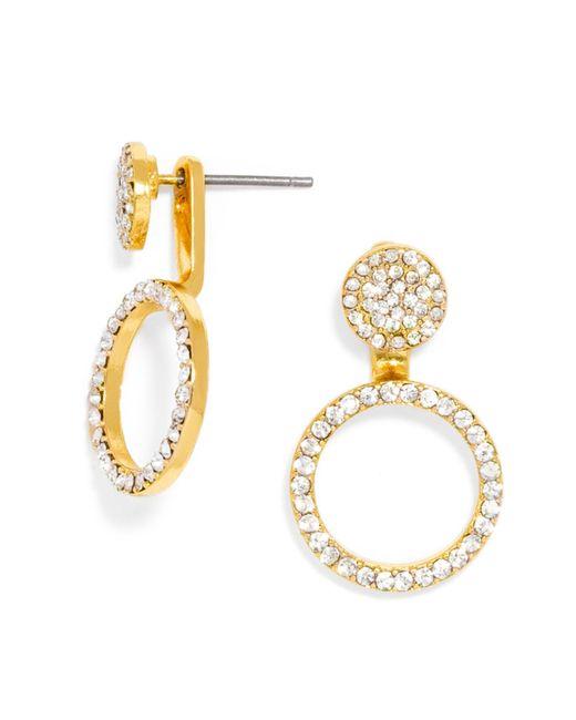 BaubleBar | Metallic Champagne Ear Jackets | Lyst