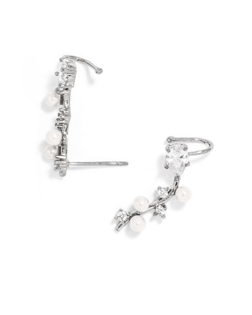 BaubleBar | Metallic Frosty Ear Crawlers | Lyst