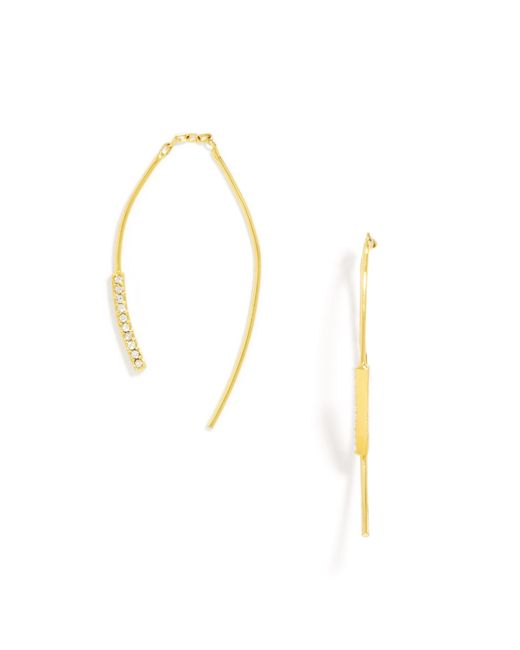 BaubleBar | Metallic Sofia Threader Drops | Lyst