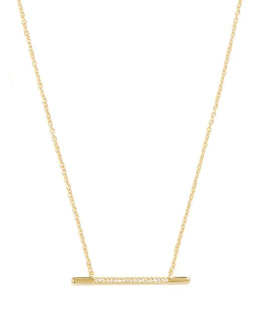 BaubleBar | Metallic Millie Bar Pendant | Lyst