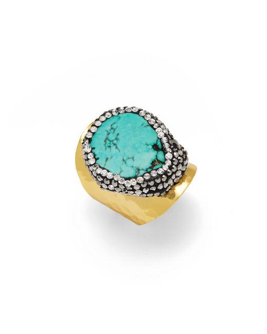 BaubleBar | Blue Globetrotter Ring | Lyst
