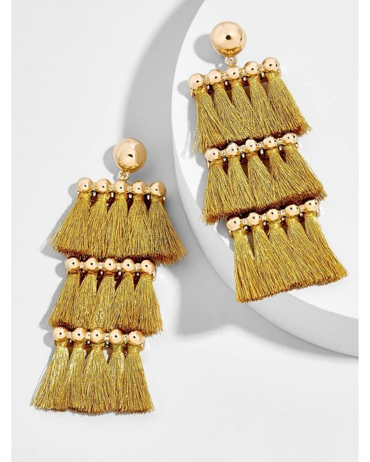 BaubleBar | Multicolor Malaya Tassel Earrings | Lyst