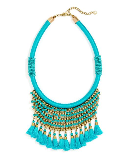 BaubleBar | Blue Koya Necklace | Lyst