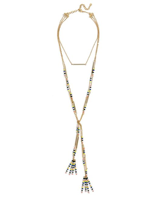 BaubleBar   Metallic Cortez Layered Necklace   Lyst