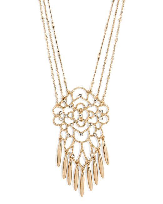 BaubleBar | Metallic Brielle Pendant Necklace | Lyst