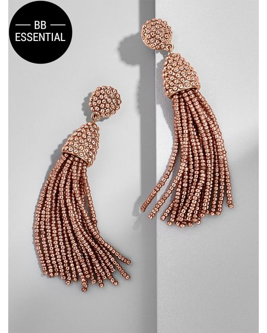 BaubleBar | Metallic Piñata Tassel Earrings | Lyst