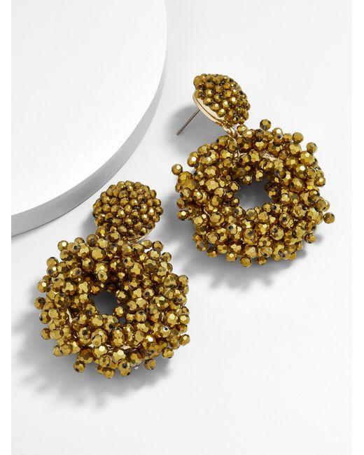 BaubleBar - Metallic Eve Hoop Earrings - Lyst