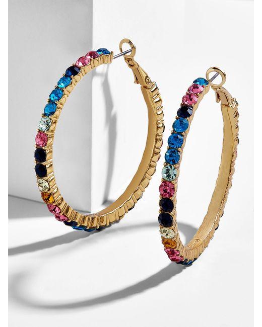 BaubleBar - Multicolor Georgina Hoop Earrings - Lyst