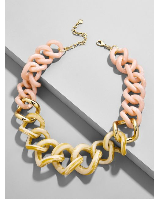 BaubleBar - Multicolor Francina Linked Statement Resin Necklace - Lyst