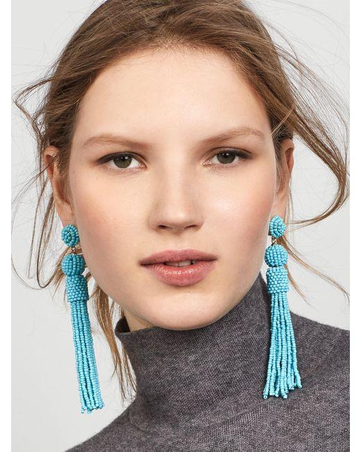 BaubleBar | Blue Mariachi Tassel Earrings | Lyst