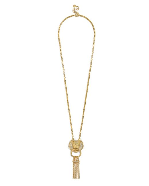 BaubleBar | Metallic Panthera Lion Head Necklace | Lyst