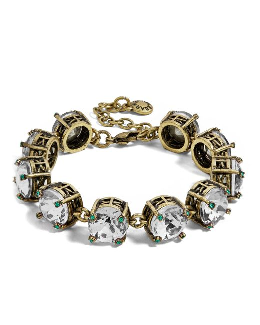 BaubleBar | Multicolor Caprice Glass Bracelet | Lyst