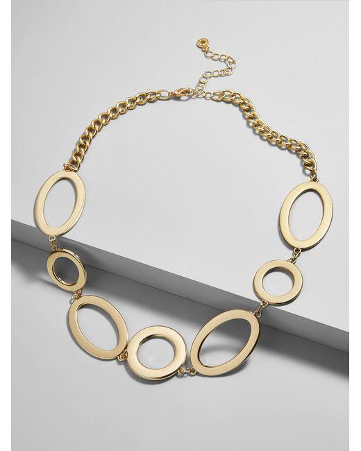 BaubleBar | Multicolor Romona Linked Statement Necklace | Lyst
