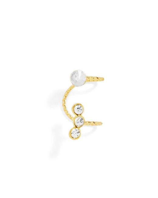 BaubleBar | Metallic Crystal Ear Cuff | Lyst