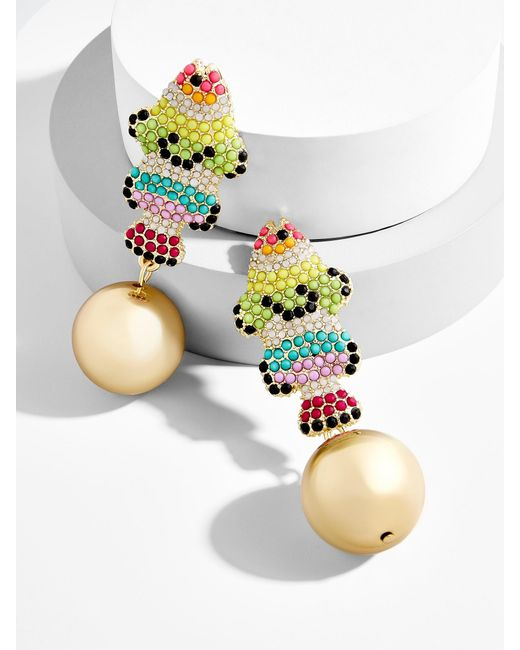 BaubleBar - Multicolor Panama Drop Earrings - Lyst