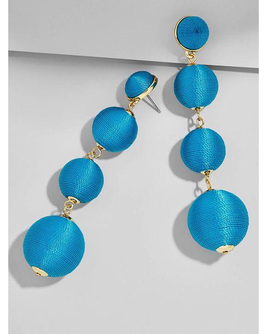 BaubleBar | Blue Criselda Ball Drop Earrings | Lyst