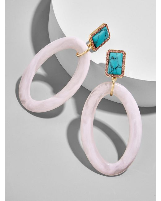 BaubleBar - Multicolor Tristine Hoop Earrings - Lyst