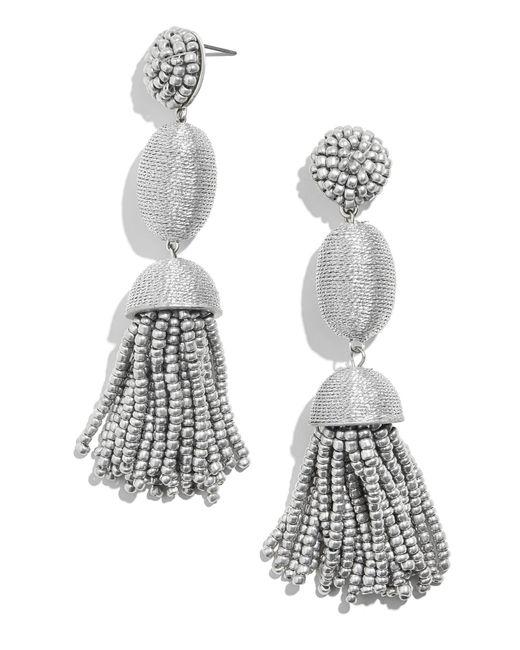 BaubleBar - Metallic Tamsin Drop Earrings - Lyst