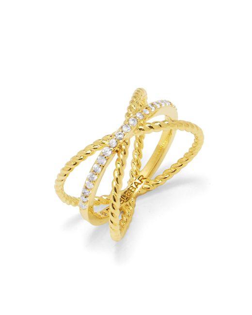 BaubleBar | Metallic Maddy X Ring | Lyst
