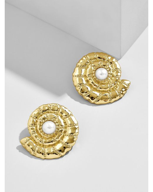 BaubleBar - Metallic Thasos Stud Earrings - Lyst