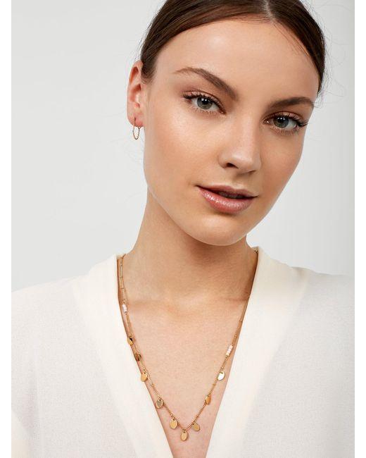 BaubleBar - Gray Aveline Necklace - Lyst