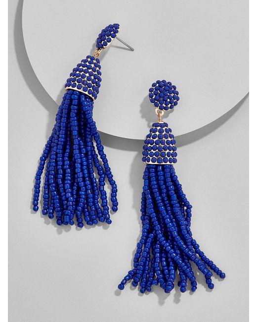 BaubleBar   Blue Piñata Tassel Earrings   Lyst