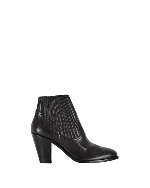 Baukjen | Black Ash Leather Ilona Ankle Boot | Lyst