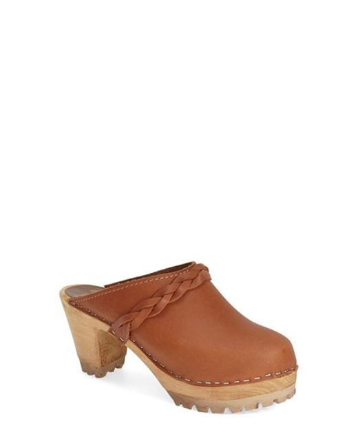 MIA | Brown 'elsa' Clog | Lyst