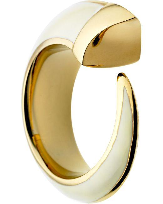 Shaun Leane   Metallic 'tusk' Ring   Lyst