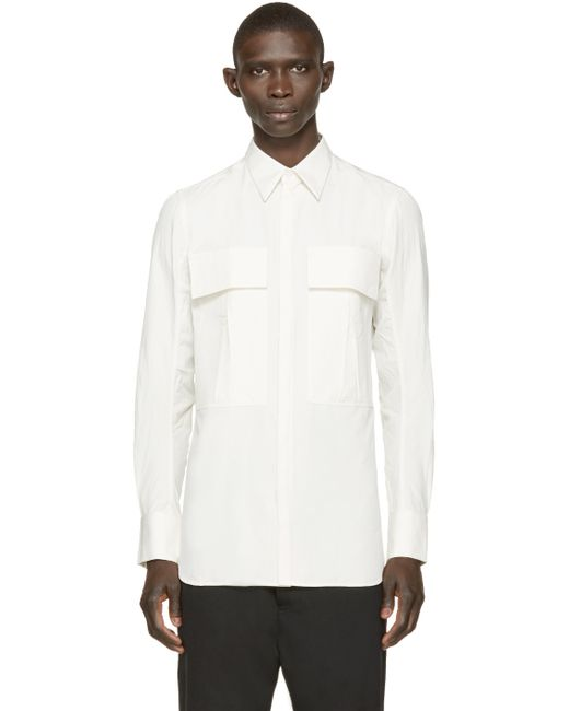 Song For The Mute | Off-white Military Pocket Shirt for Men | Lyst