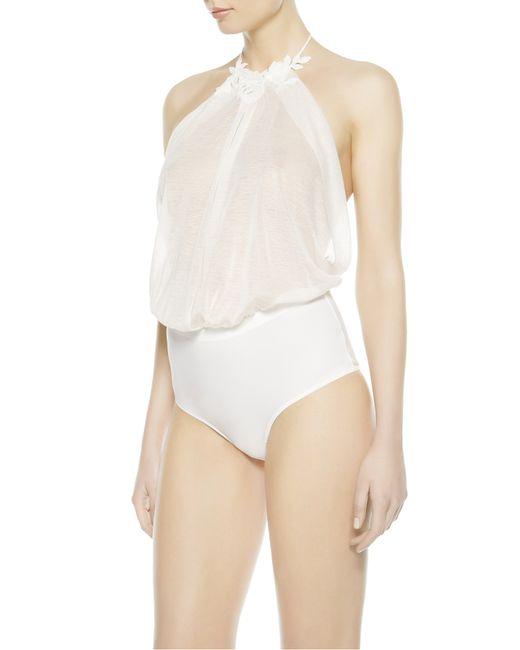 La Perla | Natural Bodysuit | Lyst
