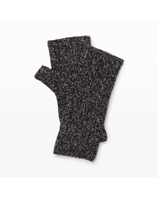 Club Monaco   Black Jayna Knit Glove   Lyst