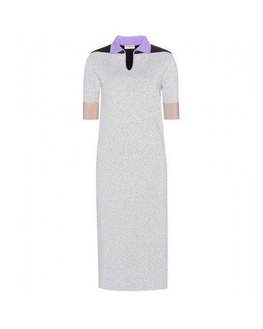 Balenciaga   Multicolor Stretch Dress   Lyst