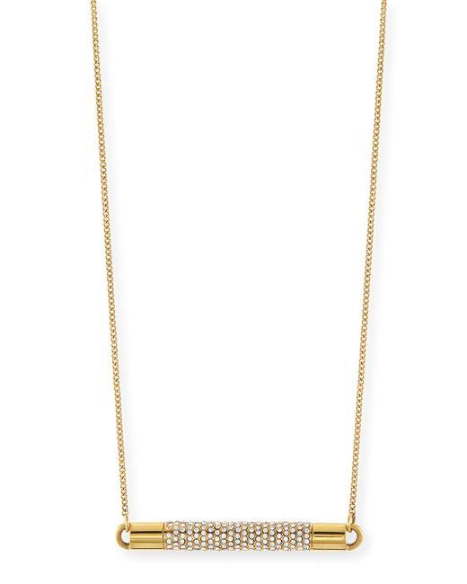 Vita Fede | Metallic Mia Crystal Necklace | Lyst