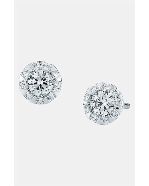 Kwiat | Metallic 'sunburst' Stud Earrings | Lyst