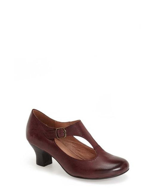 Miz Mooz | Purple Trina T-Bar Pumps | Lyst
