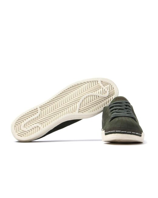 f3891f5bc39 ... Adidas Originals - Superstar 80s Decon Olive Green Trainers for Men -  Lyst ...