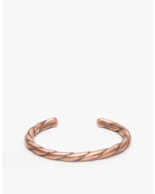 Cause and Effect | Metallic Twisted Copper for Men | Lyst