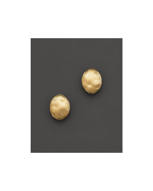 "Marco Bicego | Metallic ""siviglia Collection"" Gold Stud Earrings 